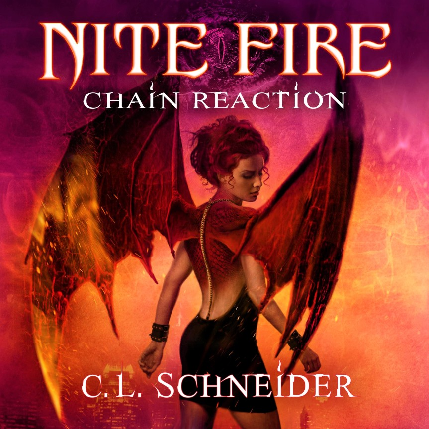 AUDIOBOOK TOUR|Nite Fire: Chain Reaction Review + Spotlight + Audio Excerpt +Giveaway